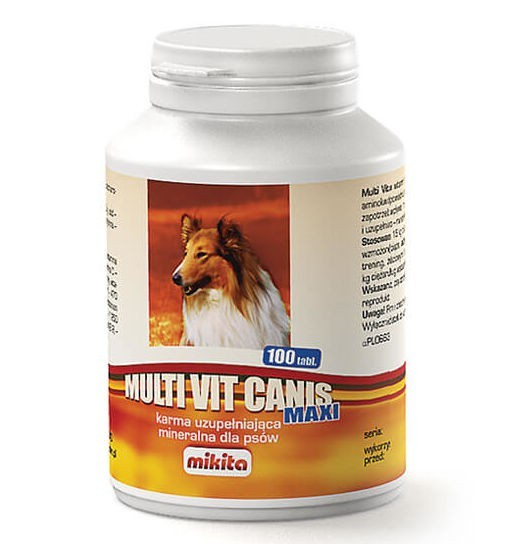 Mikita Multi Vit Canis Maxi - suplement witaminowo-mineralny