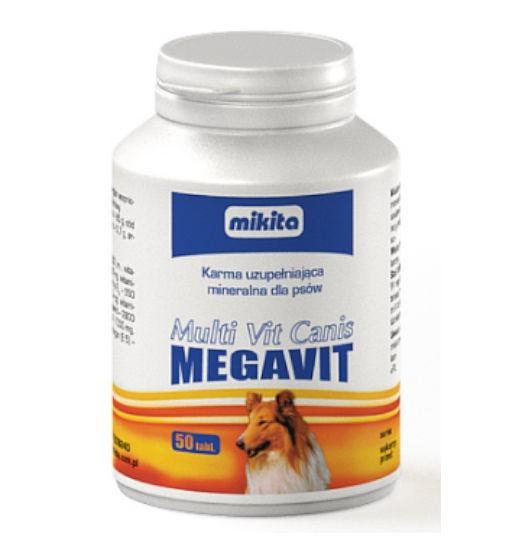 Mikita Multi Vit Canis Megavit - suplement witaminowo-mineralny