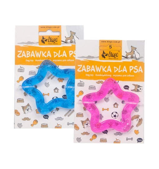 Dingo Zabawka dla psa gryzak miękki gwiazdka 8,5 cm
