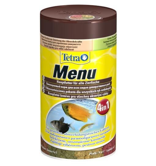 TetraMin Menu - pokarm płatkowany 4w1
