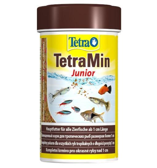 TetraMin Junior - specjalny pokarm podstawowy dla młodych ryb