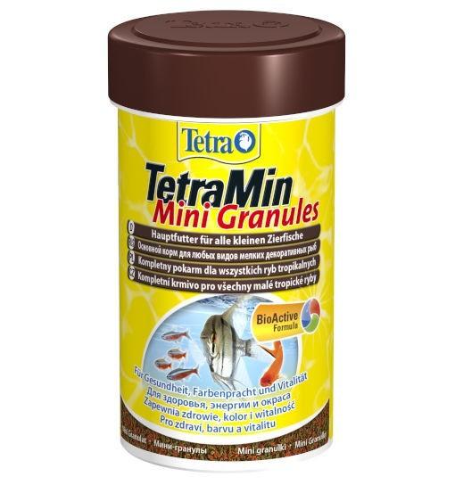 TetraMin Mini Granules - pokarm  w formie granulek dla małych ryb ozdobnych