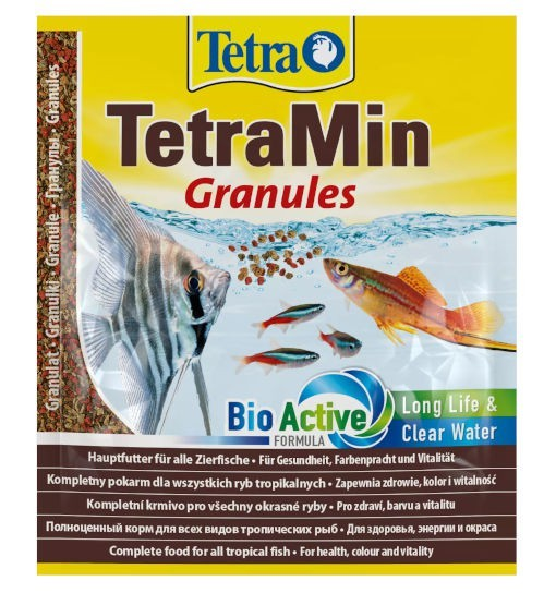 TetraMin Granules - pokarm  granulowany dla ryb akwariowych