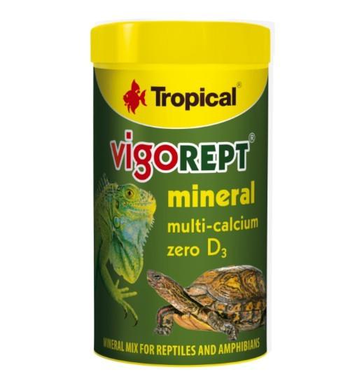 Tropical Vigorept Mineral 60g - mieszanka mineralna dla gadów i płazów