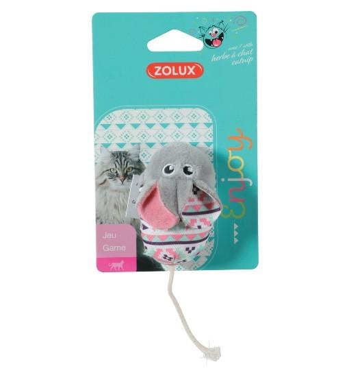 Zolux Zabawka dla kota KALI - szara mysz