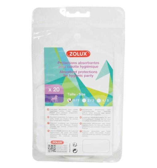 Zolux Wkładki higieniczne do majtek ochronnych