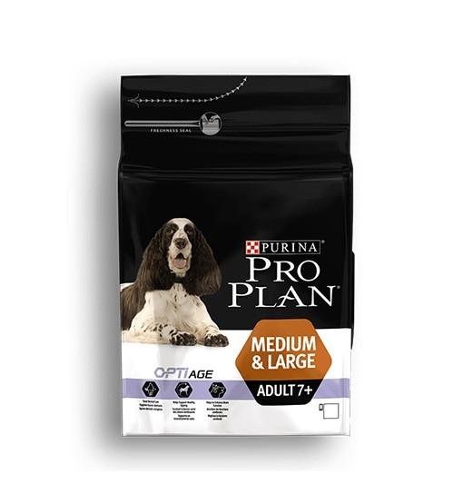 Purina Pro Plan Optiage Adult Medium Large 7+