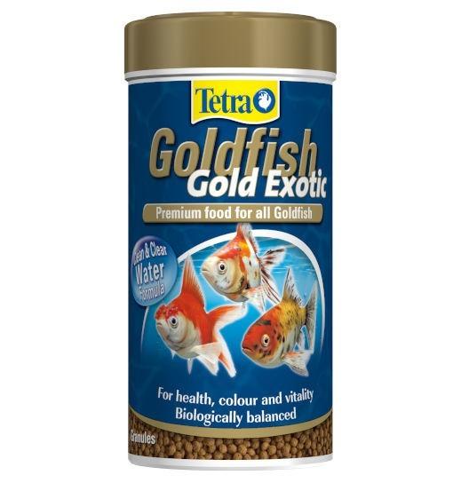 Tetra Goldfish Gold Exotic -  pokarm premium dla złotych rybek