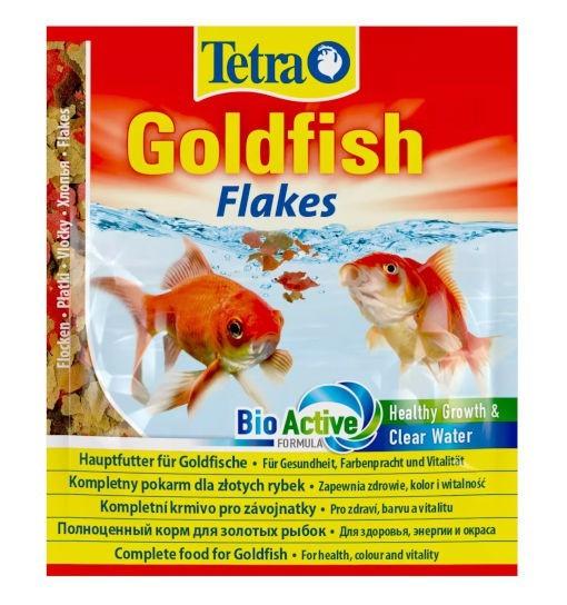 Tetra Goldfish -  pokarm płatkowany dla złotych rybek