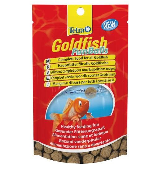 Tetra Goldfish FunBalls - pokarm w kulkach dla złotych rybek