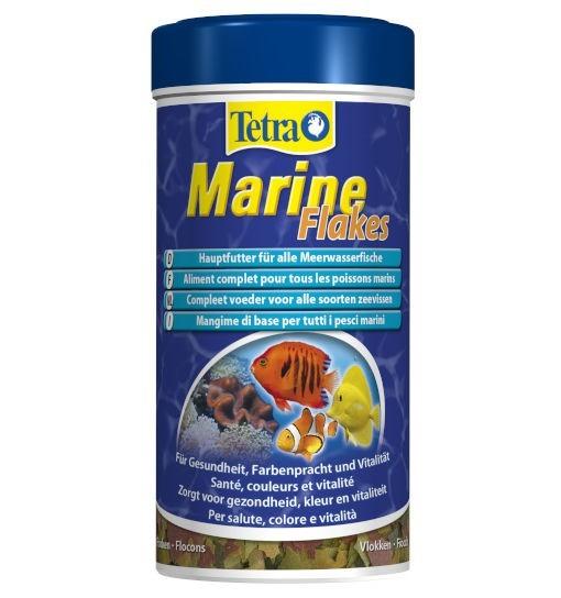 Tetra Marine Flakes - pokarm w płatkach dla małych i średnich ryb morskich