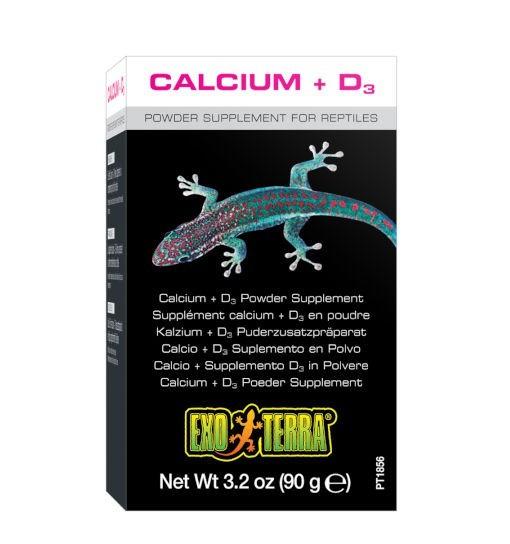 Exo-Terra Calcium + D3 - suplement